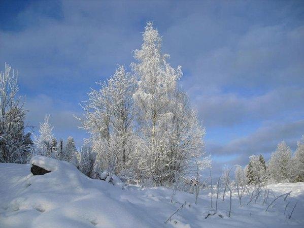 Winter in Südschweden